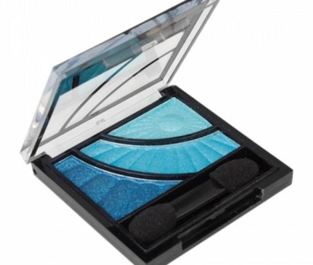 QIANYU SQUARE BOX 3 COLOR MAKEUP EYESHADOW PALETTE Only $5